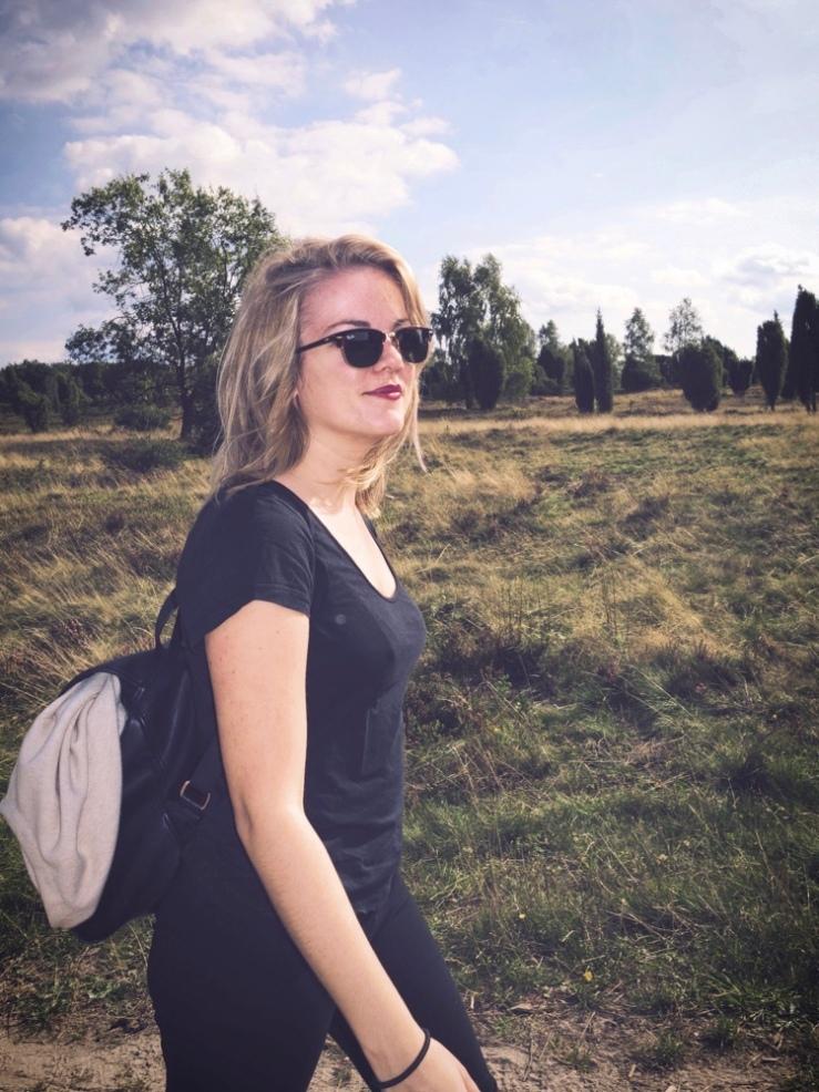 På vandring uppför Wilseder Berg