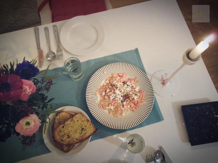 polkabeta-italienskt bröd