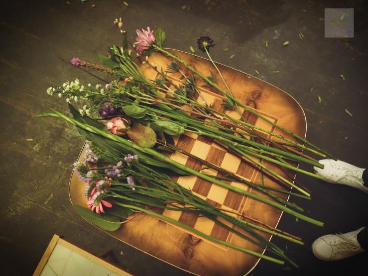 Bukettworkshop - blommorna