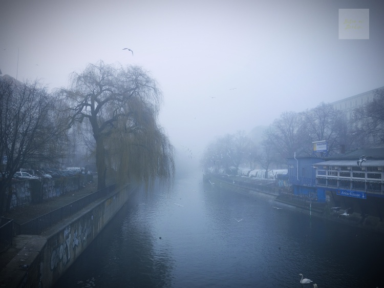 Dimma över Landwehrkanal