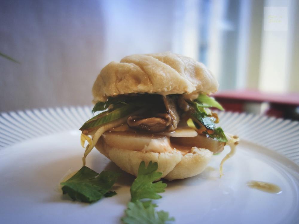 veganska steamed buns