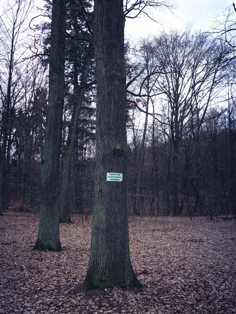 Liepnitzsee - förhållningsregler