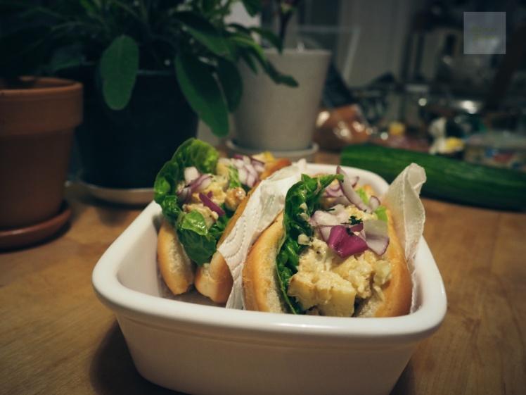 veganska lobster rolls