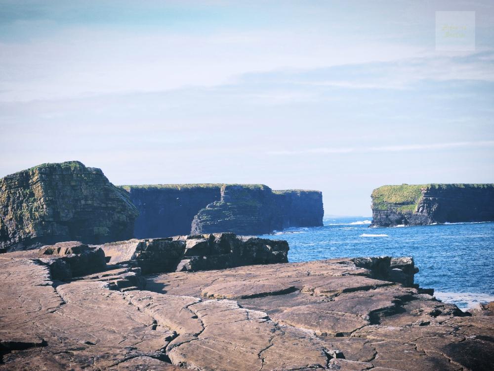Vid världens ände - klippor vid vattnet