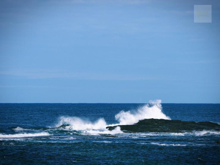 Irland, County Clare och vågor