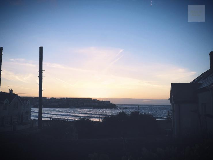 Utsikt från Stella Maris, på irländska västkusten